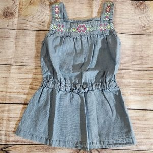 Carter's | One Piece Denim Outfit
